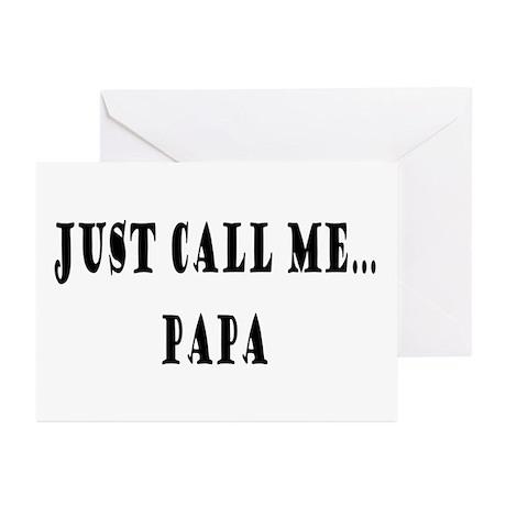 Call Me Papa Greeting Cards (Pk of 10)