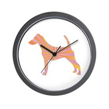 Terrier Rays Wall Clock