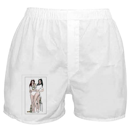 HELLO SAILORS - Tipsy Nights Journal Boxer Shorts