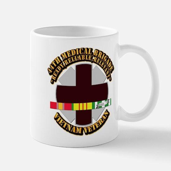 Army - 44th Medical Brigade w SVC Ribbon Mug
