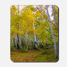 Autumn Yellow Mousepad