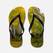 Autumn Yellow Flip Flops