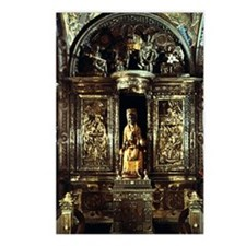 Black Madonna statuette Postcards (Package of 8)