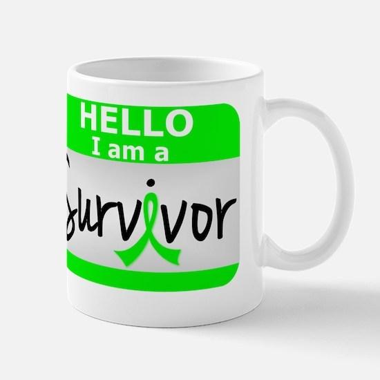 D Lymphoma Survivor 24 Mug