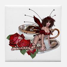 ROSA Teacup Fairy Tile Coaster
