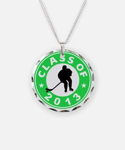 Class Of 2013 Hockey Necklace