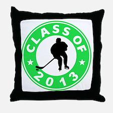 Class Of 2013 Hockey Throw Pillow
