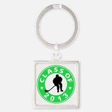Class Of 2013 Hockey Square Keychain