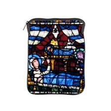 Stained glass window from the Cathedra iPad Sleeve