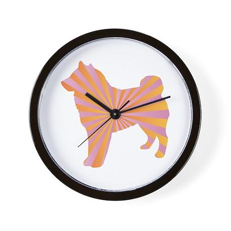 Sheepdog Rays Wall Clock