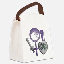 GiGi small bear logo Canvas Lunch Bag