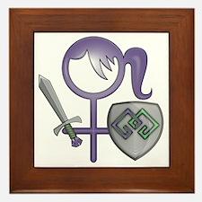 GiGi small bear logo Framed Tile