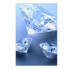 Diamonds Postcards (Package of 8)
