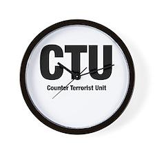 C.T.U. Wall Clock
