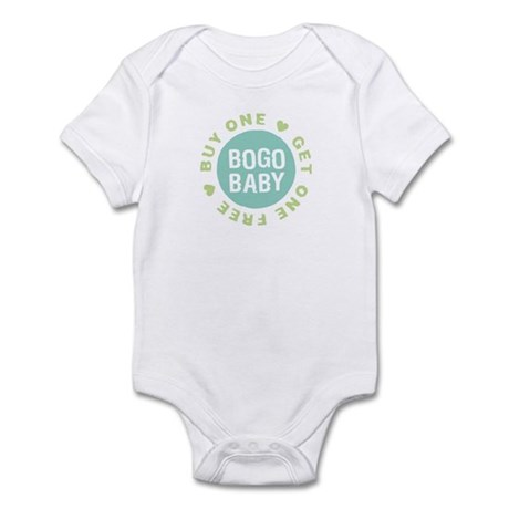 Twins Buy One, Get One Free Infant Bodysuit 1