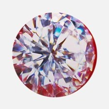 Diamond Round Ornament