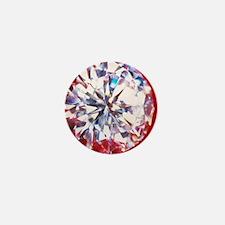 Diamond Mini Button
