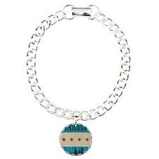 VintageChicagoSkyline Bracelet
