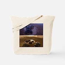 Galapagos giant tortoise thermoregulation Tote Bag