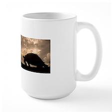 Galapagos giant tortoise and sail ship Mug