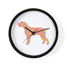 Spinone Rays Wall Clock