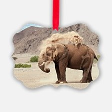 Desert-adapted elephant Ornament