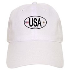 USA Euro-style Country Code Baseball Cap