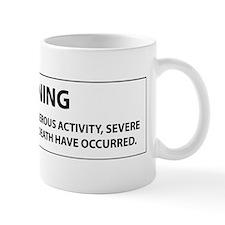 Pole Vault Label Mug