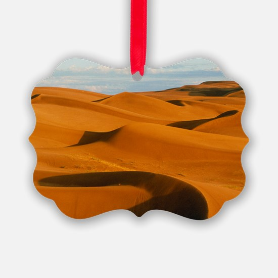 Desert sand dunes at Glamis,near  Ornament