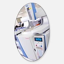 Gas chromatography machine Decal