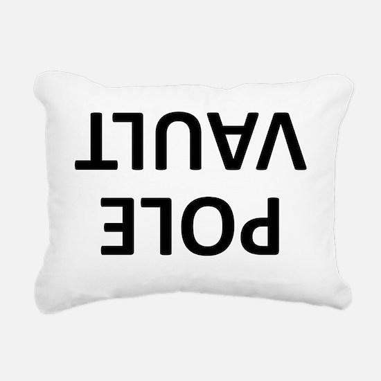 Pole Vault Rectangular Canvas Pillow