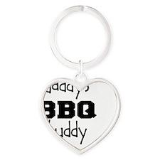 Daddys BBQ Buddy Heart Keychain
