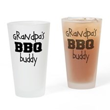 Grandpas BBQ Buddy Drinking Glass