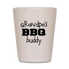Grandpas BBQ Buddy Shot Glass