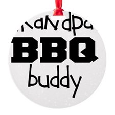 Grandpas BBQ Buddy Ornament