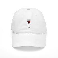 Glass Of Red Wine Baseball Baseball Cap