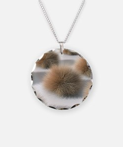 Fungal skin infection, artwo Necklace