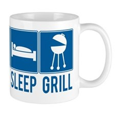 Eat Sleep Grill Mug