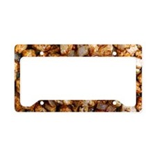 Fried quorn License Plate Holder