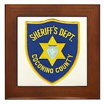 Coconino County Sheriff Framed Tile
