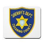 Coconino County Sheriff Mousepad