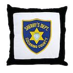 Coconino County Sheriff Throw Pillow