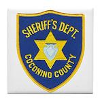 Coconino County Sheriff Tile Coaster