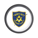 Coconino County Sheriff Wall Clock