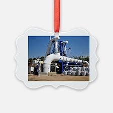 Desalination plant main water pip Ornament