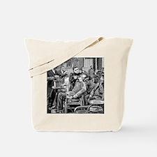 Dental surgery, 19th century Tote Bag