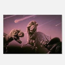 Death of dinosaurs Postcards (Package of 8)