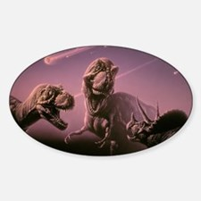 Death of dinosaurs Decal