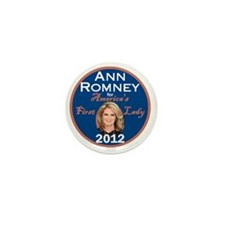 Ann Romney Mini Button
