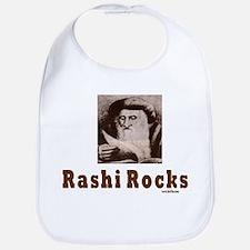 Rashi Rocks Bib